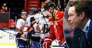Niklas Eriksson vill gärna fortsätta i rollen som huvudtränare i Örebro Hockey, tillsammans med Henrik Löwdahl och Jörgen Jönsson. Men inget är klart i det här läget. Bilder. Johan Bernström/Bildbyrån