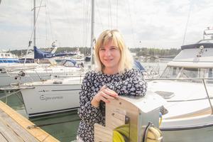 Kristina Stugholm, turistbyråföreståndare, Nynäshamn.