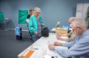 84-åriga Ingegerd Westin tänker rösta så länge hon kan.
