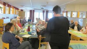 Intresset var stort när PRO Frostviken arrangerade möte om mediciner. Foto: Gunnel Fredriksson