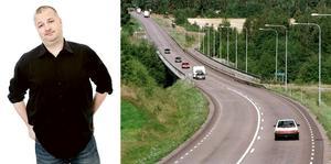 Per Bjurman saknar att korsa Mellstabron i en salt hyrbil och störta iväg längs Riksväg 70, genom det förtrollade landskapet i Duvnäs och Djurmo.