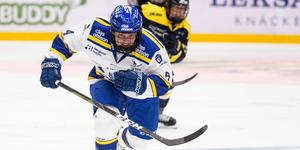 Wilma Johansson gjorde Leksands enda mål när tabelljumbon pressade AIK på bortaplan under fredagskvällen. Foto: Daniel Eriksson/Bildbyrån