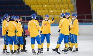 På måndagen börjar allvaret för Sverige och Andreas Westh – landslagskaptenen som gör sitt sista mästerskap i blågult. Foto: Rikard Bäckman / Bandypuls.se / TT