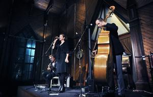 Rebecka Törnqvist, en lika elegant sval som omfamnande varm sångerska, tycker Anders Jansson efter konserten i Bollnäs Träkyrka i måndagskväll.