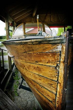 2. Tidens tand har gnagt på Pettersson-båten som byggdes 1937.