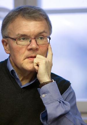 – Jag är inte oroad över enkäten. Den ger en felaktig bild av företagsklimatet, säger Sven-Åke Thoresen.