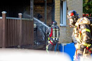 Branden 12 juni 2018 eldhärjades Janne Andersson hem.