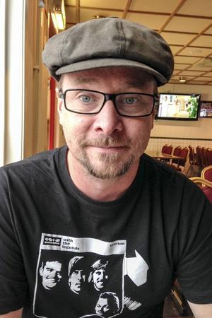 Rikard Mattsson är ordförande för Kommunal i Härjedalen. Foto: Privat