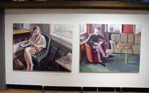 Två målningar som osäkrar världen. Vad håller de på med?