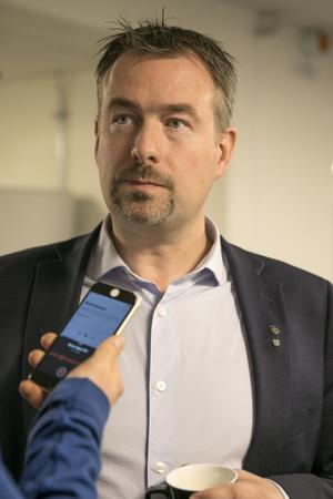 Daniel Danielsson (C), kommunstyrelsens ordförande.