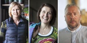 Jeanette Melin, Helén Tanzborn och Andreas Bernmyr är årets PH Lindh-stipendiater.