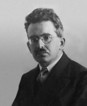 Walter Benjamin 1928. Foto: Okänd