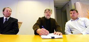 Mycket bra idéer. Per Adriansson, Ulf Hanses och Robert Mattsson vill ta tillvara och utveckla produkter och idéer runt om i Dalarna.