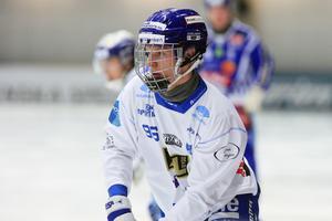 Viktor Spångberg, en av flera spelare som drabbats hårt av en hjärnskakning.