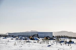 Scandinavian Mountains Airport byggs i Sälen. Foto: Lars Pehrson