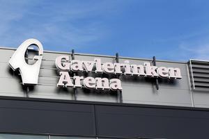 Gavlerinkens arenanamn förekom i nära 4 000 webbartiklar och 200 tv-inslag år 2018, enligt en analys som kommunen och Brynäs låtit göra. Foto: Catharina Hugosson