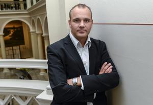 Johan Hemlin, sportchef för SHL. Bild: Bertil Ericson / TT