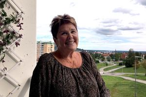 Margot Falkenström stortrivs i pluslägenheten som hon har bott i de senaste fem åren.