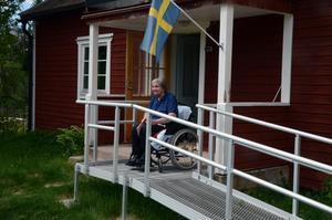 Martha kom till Storbron 1953 och bor fortfarande kvar, hon och sonen Yngve är de sista bofasta.