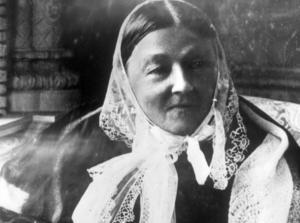 Florence Nightingale.Bild: Okänd fotograf