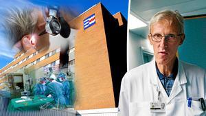 27 läkare inom kirurgi, urologi och öron, näsa, hals på Sundsvalls sjukhus ställer sig bakom sparkade Leif Israelsson. Bilder: TT / Ove Öst / Jan Olby
