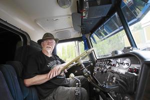 Anders Törnblom har bland annat samlat på veteranbilar.  Foto: Jessica Andersson