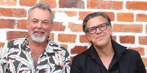 Urban Wrethagen och Peter Jävermyr är två av de musiker som kommer till Blandband 2.