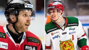 Frederik Storm, Malmö, och Emil Bejmo, Mora. Foto: Bildbyrån