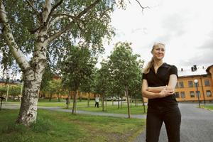 Analytikern Eva Alfredsson har jobbat på ITPS sedan 2002. Efter utlokaliseringen jobbar 35 personer på Campus.
