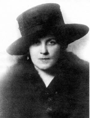 MAMMA LÅNGSTRUMP. Jessie Simpson från Gävle var en mycket självständig kvinna. 1922 gifte hon sig med den man som utpekats som Pippi Långstrumps pappa.