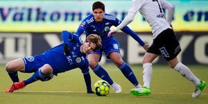 Oliver Berg och GIF Sundsvall föll mot Örebro. Bild: Erik Mårtensson/TT