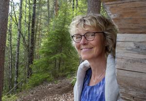 Åsa Rydell menar att reservaten gör att fler hittar de vackra som finns i Leksands natur.