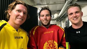 Nicklas Bäckström, Calle Järnkrok och Jakob Silfverberg kommer alla spela tillsammans med det Svarta laget i torsdagens internmatch.