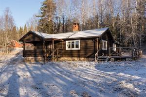 På sjätte plats på Klicktoppen hittar vi denna villa i Sälens by. Foto: Andreas Timfält