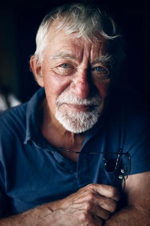 Västeråsförfattaren Lars Gustafsson gick bort den 2 april 2016 79 år gammal, efter sig lämnade han uppemot hundra publicerade verk. Foto: Benjamin Gustafsson