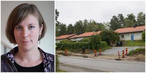 Hanna Klingborg och Järna kommundelsnämnd har beslutat Tellebytomten i framtiden ska kunna bebyggas med bostäder.