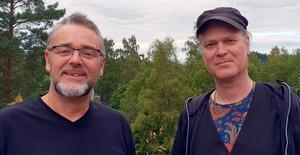 Tillsammans med den eminente gitarristen Love Tholin gav Jack Vreeswijk en konsert där den musikaliska laddningen oavbrutet växte.  Foto: Björn Gustavsson