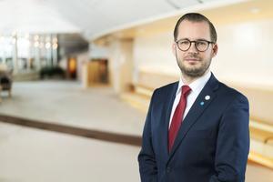 Mattias Bäckström Johansson, SD.