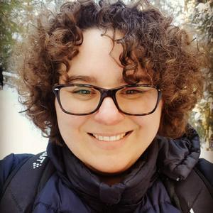 Förutom att hon är tyskalärare på Los skola, så driver Yvonne Platte också stugbyn Nature Adventures i Hamra, tillsammans med sin man.