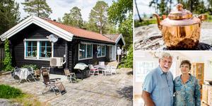 Martin Strömqvist byggde huset på Spikarna under 1970-talet. 2008 köpte han tillbaka sitt gamla hus.