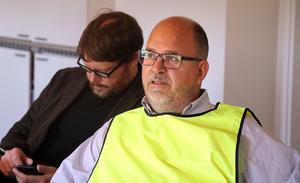 Karl-Petter Thorwaldsson lyssnade och kryddade med ett och annat