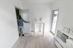 """""""Östersund kombinerar stad och natur på ett bra sätt. På tio minuter är du inne i stan utan stress eller nämnvärda trafikköer. Det är vi inte vana vid"""", säger Nadja Tulner."""
