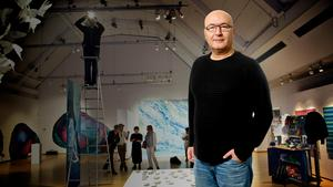 Elias Zazi är LT:s nya kulturredaktör. Foto: Janne Näss/Mattias Holgersson