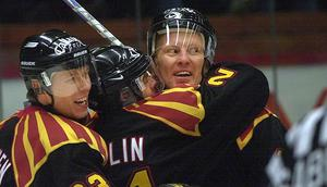 Kyösti Karjalainen gjorde fyra säsonger i Brynäs innan han blev proffs i Nordamerika och även en säsong 2002/03, tio år efter att han flyttat hem igen. FOTO: GD ARKIV