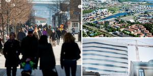 Både Gävle och Umeå har gått förbi Sundsvall som Norrlands största stad – frågan de styrande borde ställa sig är varför vi växer så långsamt, menar Walter Rönmark. Bilder: Arkiv / TT