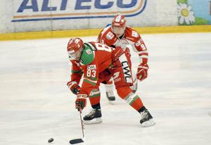 Mattias Beck var en av Moras främsta forwards i flera säsonger. Foto: Jörgen Wåger