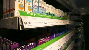 Apoteket i Leksand har märkt av en ökad försäljning av allergimediciner.