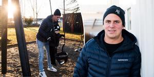 Andreas Molinder har avslutat spelarkarriären. Den tidigare Timråspelaren berättar om beslutet och framtidsplanerna. Just nu är han arbetssökande och när ST träffar honom så tar han med sonen Love till lekparken.