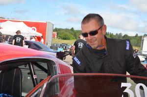 Lars-Erik Jonsson är inne på sin andra säsong med sin Ford Mustang Fastback.