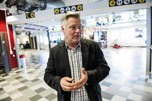 Robert Gyllroth, VD för Örnsköldsvik airport.